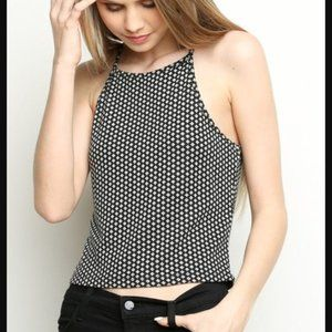 Brandy Melville Diamond Pattern Danilyn Tank